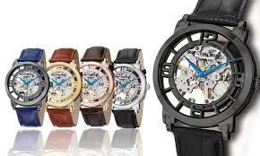 stührling original men s skeleton automatic legacy watch stührling original men s skeleton automatic legacy watch collection