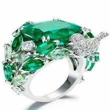 Женское Обручальное <b>кольцо</b> с красным камнем, <b>серебряное</b> ...