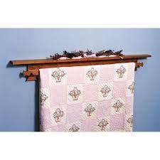 shaker style quilt hanger woodworking
