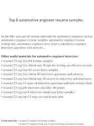 Service Tech Resume Automotive Technician Resumes Automotive Technician Automotive