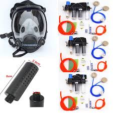details about chemical spray painting supplied air fed respirator system 6800 safety gas mask