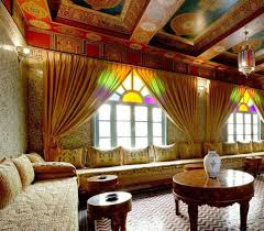 Image Living Room Often Moroccan Rugs With Beautiful And Exquisite Designs Cover Moroccan Furniture Tables And Sofas Leading The Eye Down To The Floor Decorated With Large Go Workout Mom Moroccan Decorating Ideas Moroccan Rugs And Floor Decor Accessories