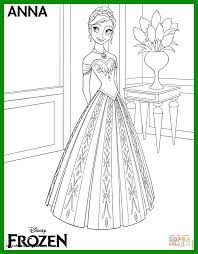 10 Frozen Anna Coloring Pages To Print Umrohbandungsblcom