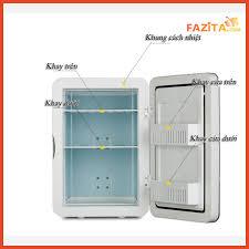 Bán Tủ lạnh mini HUYNDAI 20L CHÍNH HÃNG loại 1 | Bảo quản mỹ phẩm cao cấp  (Sẵn hàng giao ngay 2h) giá rẻ 2.450.000₫