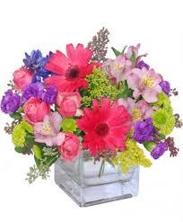 razzle dazzle bouquet of flowers