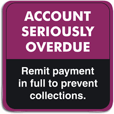 Overdue Account Overdue Collection Labels Smartpractice Eye Care