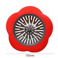 Flower Sink Strainer Kitchen Drain Filter Bathroom Drainage Hair