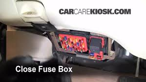 interior fuse box location lincoln town car  interior fuse box location 1998 2011 lincoln town car 2004 lincoln town car signature 4 6l v8