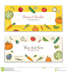gift card formats vegetable theme gift certificate voucher gift card or cash