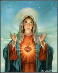 blessed heart of mary