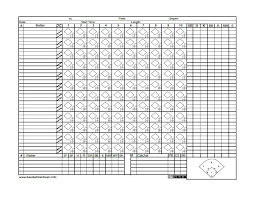Baseball Score Book Pages Baseball Scorebook Pages Printable Lima Stanito Com