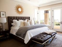 traditional bedroom design. Traditional-bedroom-design-with-tufted-headboard-and-tufted- Traditional Bedroom Design