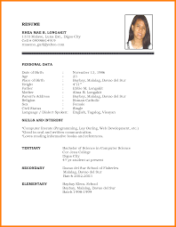 Sample Basic Resumes 24 Examples Of Basic Resumes For Jobs Points Of Origins 11