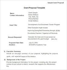 Free Business Proposal Template Word Delectable Free Grant Proposal Template