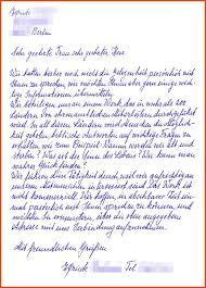 Handwritten Letter Format Moa Format