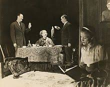 the glass menagerie anthony ross laurette taylor eddie dowling and julie haydon in the broadway production of the glass menagerie 1945