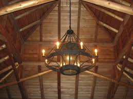 lovely rustic wrought iron chandelier of custom chandeliers en coop forge blacksmith s