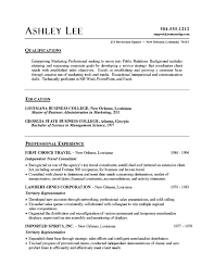 resume samples word