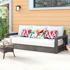 unique patio sofa cushions for teak outdoor patio sofa with cushions 14 outdoor furniture cushions canadian