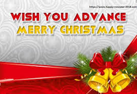 Advance Merry Christmas Wishes 2018 | Merry Christmas | Happy New ...
