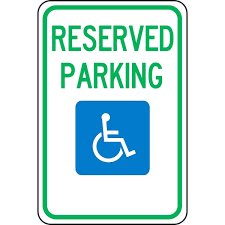 reserved sign templates template reserved parking template symbol best space sign templates