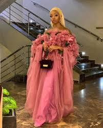 """Bamike Olawunmi-Adenibuyan on Instagram: """"There's a shade of pink for every  woman. Outfit: @ladybeellionaire_luxury 💕 M… 
