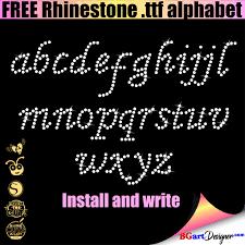 You can download the svg files. Free Rhinestone Alphabet Templates Bgartdesigner Best Free Svg