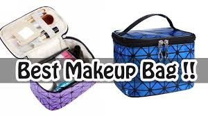 best makeup bag for travel wholikes leather cosmetic bag for travel organizer best makeup bags