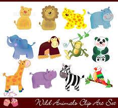 wild animals clipart. Fine Animals Clip Art Animals Wildlife Clipart 1 And Wild