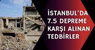 İstanbul'da deprem mi bekleniyor? İstanbul'da 7.5 depreme karşı alınan  tedbirler neler? İstanbul'da şehir nasıl tahliye edilecek? - Haberler