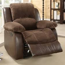 oversized leather recliner. Get Quotations · Homelegance Hartdell Microfiber/Faux Leather Oversized Recliner