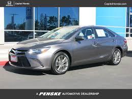 2015 Used Toyota Camry 4dr Sedan I4 Automatic SE at Capitol Honda ...