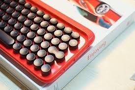 Lofree Bluetooth Wireless Mechanical Keyboard (Red ... - Amazon.com