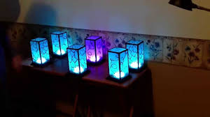 One Touch Lamps Bedroom Networked Rgb Wi Fi Decorative Touch Lights Youtube