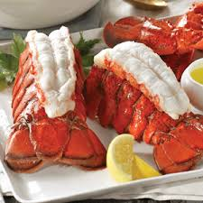 cooked lobsters. Contemporary Lobsters Broiled Lobster Tails With Cooked Lobsters