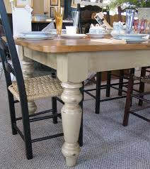 7 foot french country farm table with 2 16 company boards