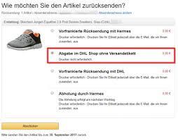 Erfahren sie mehr über … dokumente und pakete. Amazon Abgabe Im Dhl Shop Ohne Versandetikett Forum Offtopic