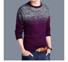 <b>2019 new brand designer</b> pullover striped men sweater mens thick ...