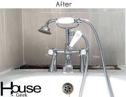 bathtub spout installation bathroom faucets after photo delta bathtub spout repair instructions kohler bathtub faucet installation
