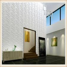 d007 home decor art designer exterior 3d board pvc acoustic wall panel for whole