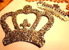 gold crown wall decor grand king and queen