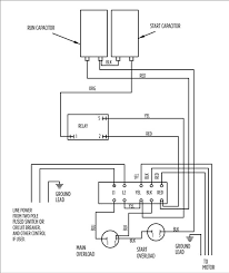 wiring diagram for well pump control box the wiring diagram aim manual page 54 single phase motors and controls motor wiring