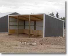 single slope buildinge