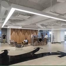 modern office lighting. Suspended Linear Light Hanging For Modern Office Lighting Modern Office Lighting