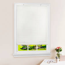 Cordless Light Filtering Blinds Details About White Oval Cordless Rollup Light Filtering Window Blinds Shades