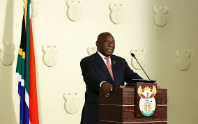 Permalink to 12+ President Cyril Ramaphosa Address Nation PNG