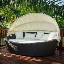 Round Outdoor Bed Hanging Outdoor Wicker Daybed Hanging Outdoor Wicker Daybed