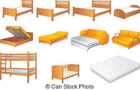 bedroom furniture clipart. Interesting Clipart Bedroom Furniture Set Vector  Various Bedroom Furniture With Furniture Clipart E