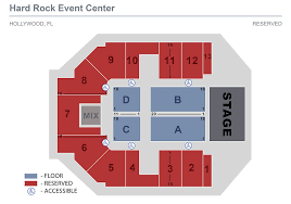 51 Rational Hard Rock Event Center Seating Chart