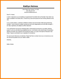 9 Hospitality Cover Letter Boy Friend Letters